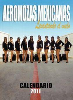 Calendario Aeromozas Mexicanas Levantando el Vuelo