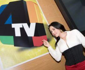 Sugey Abrego en ArriesgaTV