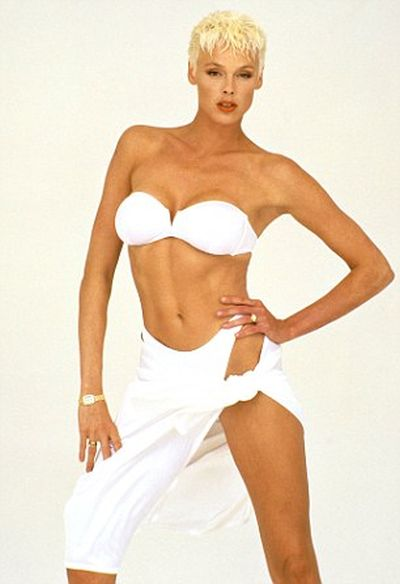 Brigitte Nielsen Bikini