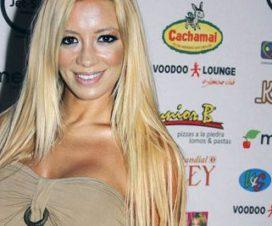 Claudia Ciardone Desnuda en la Revista Hombre