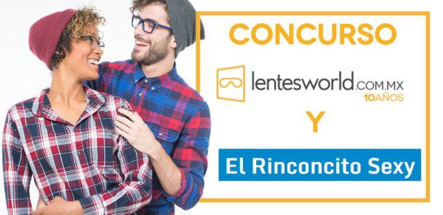 Gánate Unas Gafas de Diseñador con LentesWorld y El Rinconcito Sexy