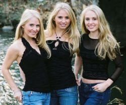 Erica, Nicole y Jaclyn Dahm en Playboy