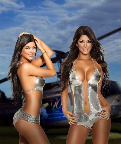 Fotos de las Gemelas Camila y Mariana Dávalos