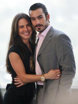 Kate del Castillo y Aarón Díaz
