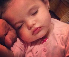 Foto de la Hermosa Hija de Lorena Rojas Qepd