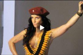 Lydia Guevara Nieta del Che Guevara Posa Desnuda para PETA