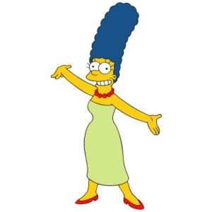 marge simpson playboy