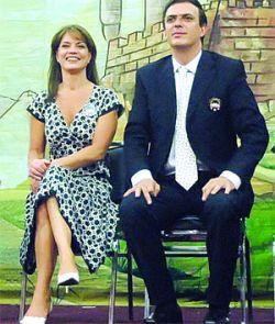 Marcelo Ebrard y Mariagna Prats