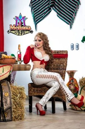Melissa La Barbie Grupera
