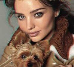 Miranda Kerr Preciosa en la Portada en 3D de Vogue
