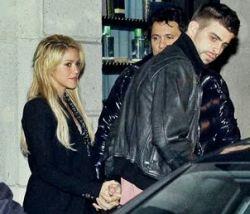 Shakira Difunde Fotos con Gerard Piqué