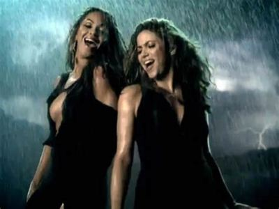 Shakira y Beyoncé Beautiful Liar