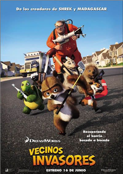 Vecinos Invasores (Over the Hedge) Trailer